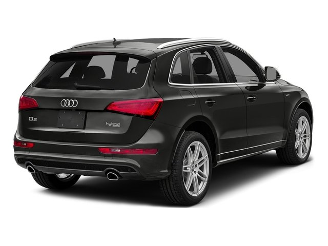 Lava Gray Pearl Effect 2016 Audi Q5 Pictures Q5 Utility 4D 2.0T Prestige AWD Hybrid photos rear view