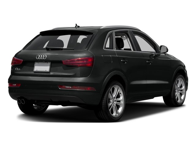 Mythos Black Metallic 2016 Audi Q3 Pictures Q3 Utility 4D 2.0T Premium Plus 2WD photos rear view