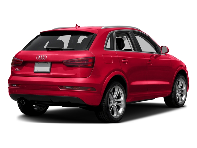 Misano Red Pearl Effect 2016 Audi Q3 Pictures Q3 Utility 4D 2.0T Prestige 2WD photos rear view