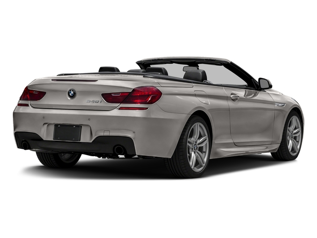 Cashmere Silver Metallic 2016 BMW 6 Series Pictures 6 Series Convertible 2D 640xi AWD I6 photos rear view