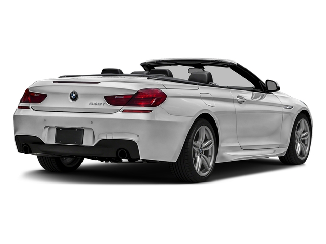 Mineral White Metallic 2016 BMW 6 Series Pictures 6 Series Convertible 2D 640xi AWD I6 photos rear view