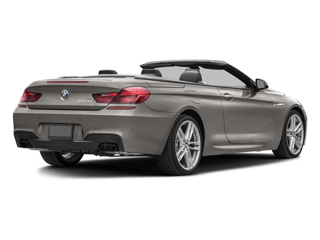 Cashmere Silver Metallic 2016 BMW 6 Series Pictures 6 Series Convertible 2D 650xi AWD V8 photos rear view
