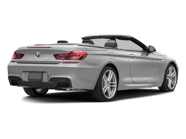Mineral White Metallic 2016 BMW 6 Series Pictures 6 Series Convertible 2D 650xi AWD V8 photos rear view