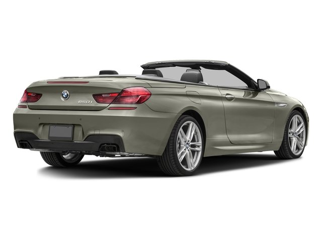 Moonstone Metallic 2016 BMW 6 Series Pictures 6 Series Convertible 2D 650xi AWD V8 photos rear view