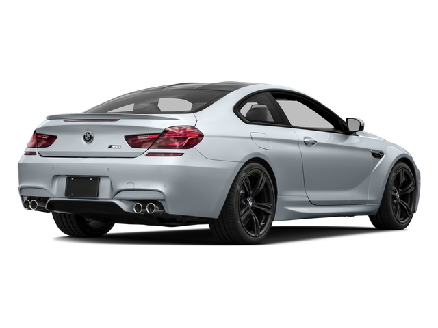 Silverstone Metallic 2016 BMW M6 Pictures M6 Coupe 2D M6 V8 photos rear view