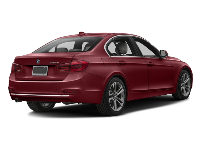 Melbourne Red Metallic 2016 BMW 3 Series Pictures 3 Series Sedan 4D 328d I4 T-Diesel photos rear view