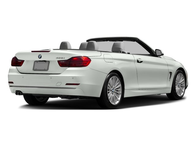 Alpine White 2016 BMW 4 Series Pictures 4 Series Convertible 2D 428xi AWD I4 Turbo photos rear view
