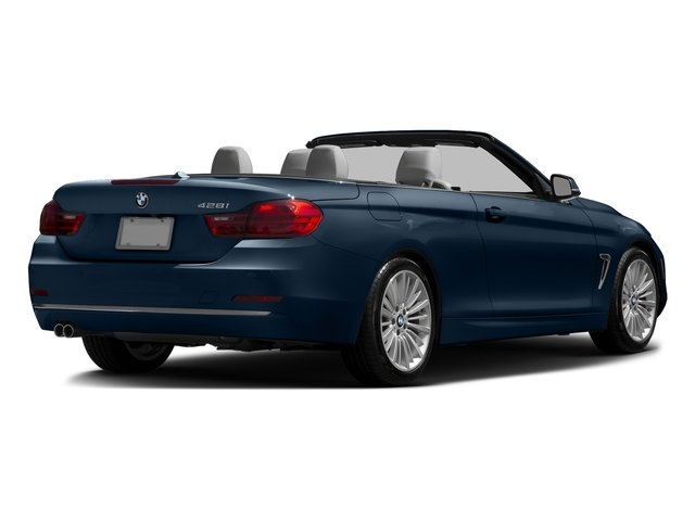 Midnight Blue Metallic 2016 BMW 4 Series Pictures 4 Series Convertible 2D 428xi AWD I4 Turbo photos rear view