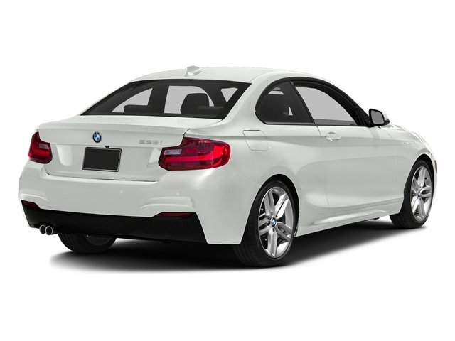 Alpine White 2016 BMW 2 Series Pictures 2 Series Coupe 2D 228i I4 Turbo photos rear view