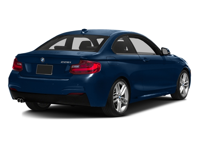 Deep Sea Blue Metallic 2016 BMW 2 Series Pictures 2 Series Coupe 2D 228i I4 Turbo photos rear view