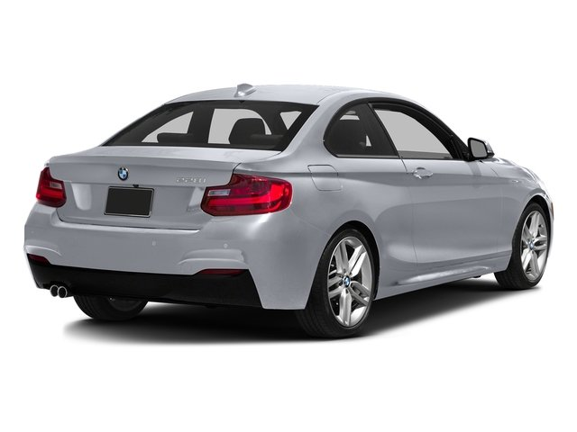 Moonlight Silver Metallic 2016 BMW 2 Series Pictures 2 Series Coupe 2D 228i I4 Turbo photos rear view