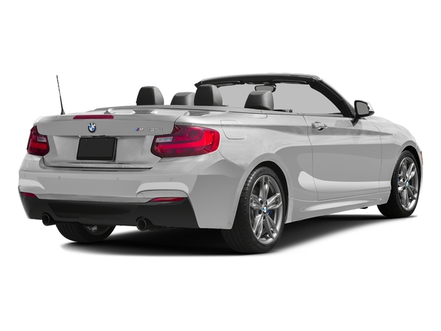 Mineral White Metallic 2016 BMW 2 Series Pictures 2 Series Convertible 2D M235i I6 Turbo photos rear view