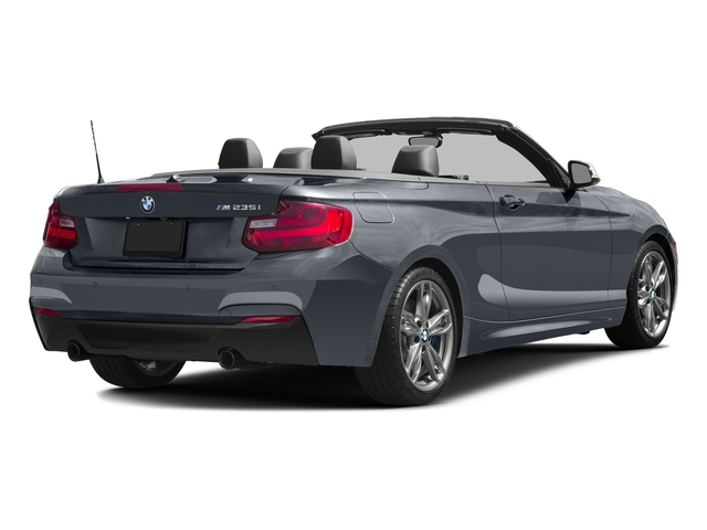 Mineral Gray Metallic 2016 BMW 2 Series Pictures 2 Series Convertible 2D M235i I6 Turbo photos rear view