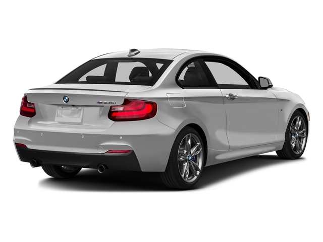 Mineral White Metallic 2016 BMW 2 Series Pictures 2 Series Coupe 2D M235i I6 Turbo photos rear view