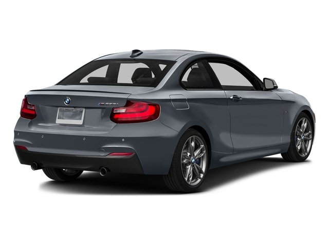 Mineral Gray Metallic 2016 BMW 2 Series Pictures 2 Series Coupe 2D M235i I6 Turbo photos rear view