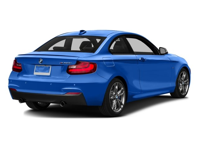 Estoril Blue Metallic 2016 BMW 2 Series Pictures 2 Series Coupe 2D M235i I6 Turbo photos rear view