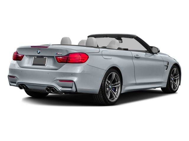 Silverstone Metallic 2016 BMW M4 Pictures M4 Convertible 2D M4 I6 Turbo photos rear view