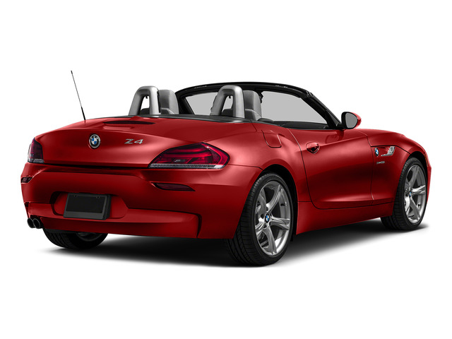 Melbourne Red Metallic 2016 BMW Z4 Pictures Z4 Roadster 2D Z4 35is I6 photos rear view
