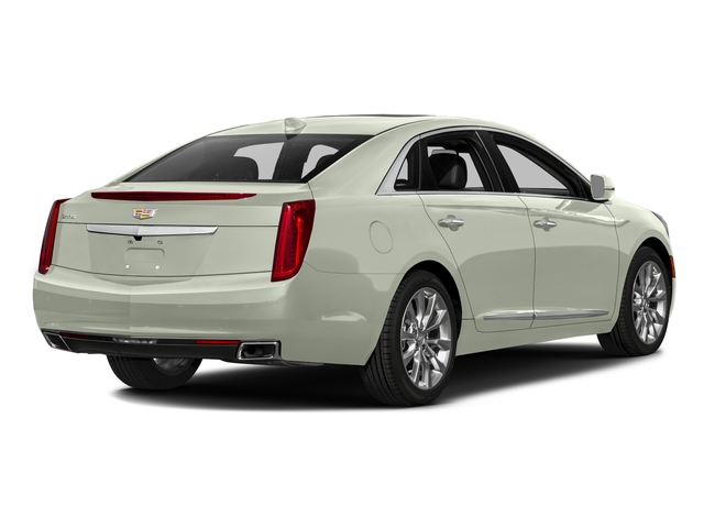 Crystal White Tricoat 2016 Cadillac XTS Pictures XTS Sedan 4D Luxury AWD V6 photos rear view