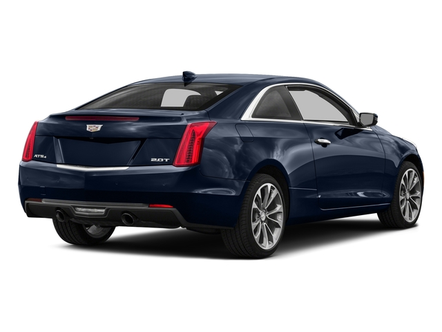 Dark Adriatic Blue Metallic 2016 Cadillac ATS Coupe Pictures ATS Coupe 2D Performance V6 photos rear view