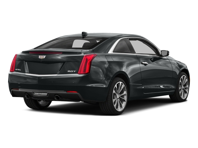 Moonstone Metallic 2016 Cadillac ATS Coupe Pictures ATS Coupe 2D Performance V6 photos rear view