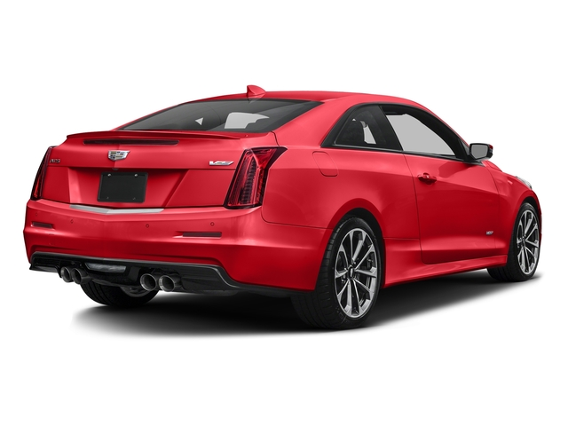 Velocity Red 2016 Cadillac ATS-V Coupe Pictures ATS-V Coupe 2D V-Series V6 Turbo photos rear view