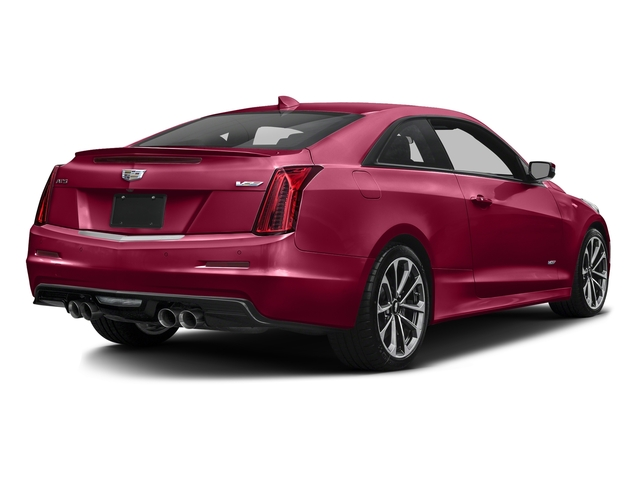 Red Obsession Tintcoat 2016 Cadillac ATS-V Coupe Pictures ATS-V Coupe 2D V-Series V6 Turbo photos rear view