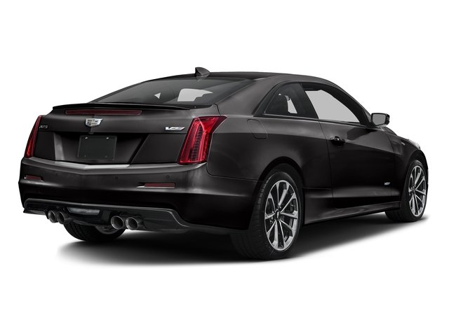 Black Raven 2016 Cadillac ATS-V Coupe Pictures ATS-V Coupe 2D V-Series V6 Turbo photos rear view
