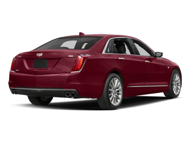 Red Passion Tintcoat 2016 Cadillac CT6 Pictures CT6 Sedan 4D Luxury 3.0TT AWD V6 Turbo photos rear view