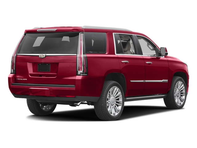 Red Passion Tintcoat 2016 Cadillac Escalade Pictures Escalade Utility 4D Platinum 4WD V8 photos rear view