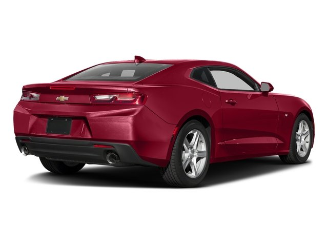 Garnet Red Tintcoat 2016 Chevrolet Camaro Pictures Camaro Coupe 2D 2LT V6 photos rear view