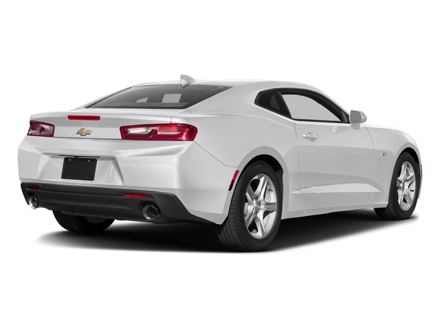 Summit White 2016 Chevrolet Camaro Pictures Camaro Coupe 2D 2LT V6 photos rear view