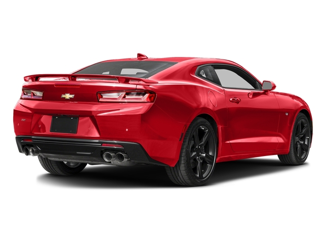Red Hot 2016 Chevrolet Camaro Pictures Camaro Coupe 2D 2SS V8 photos rear view