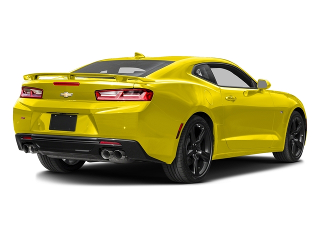 Bright Yellow 2016 Chevrolet Camaro Pictures Camaro Coupe 2D 2SS V8 photos rear view