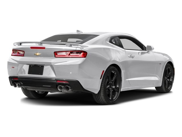 Summit White 2016 Chevrolet Camaro Pictures Camaro Coupe 2D 2SS V8 photos rear view
