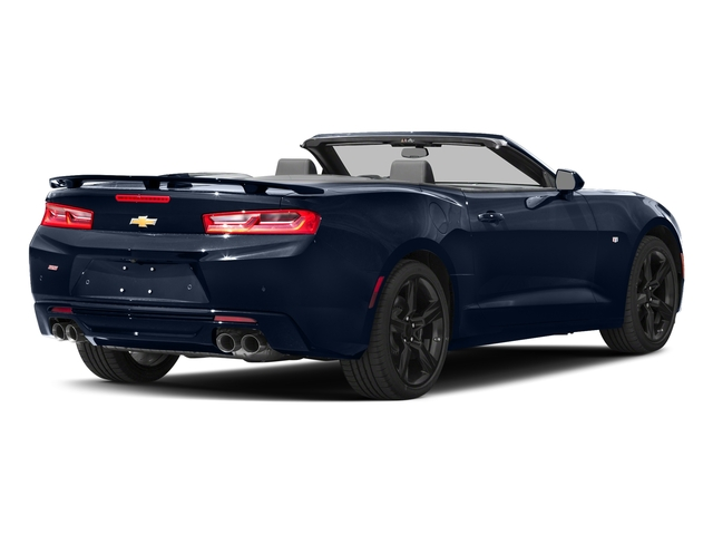 Blue Velvet Metallic 2016 Chevrolet Camaro Pictures Camaro Convertible 2D SS V8 photos rear view