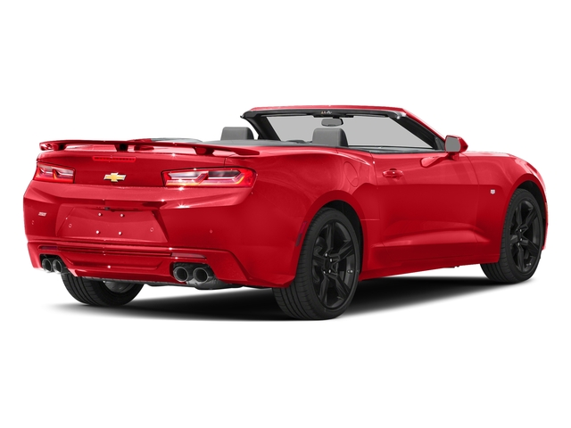 Red Hot 2016 Chevrolet Camaro Pictures Camaro Convertible 2D SS V8 photos rear view