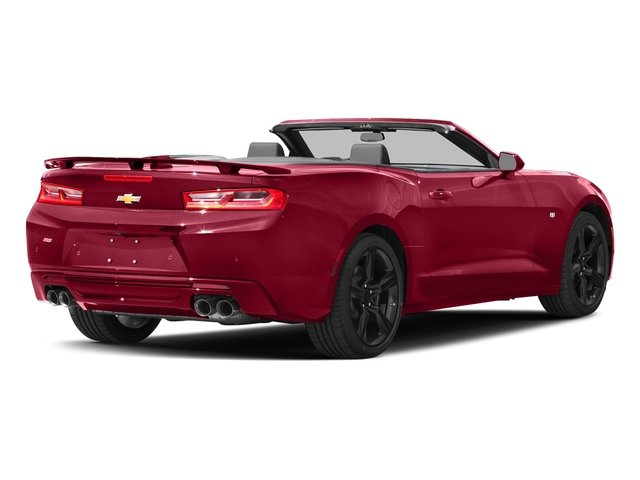 Garnet Red Tintcoat 2016 Chevrolet Camaro Pictures Camaro Convertible 2D SS V8 photos rear view