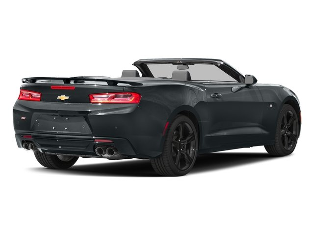 Nightfall Gray Metallic 2016 Chevrolet Camaro Pictures Camaro Convertible 2D SS V8 photos rear view
