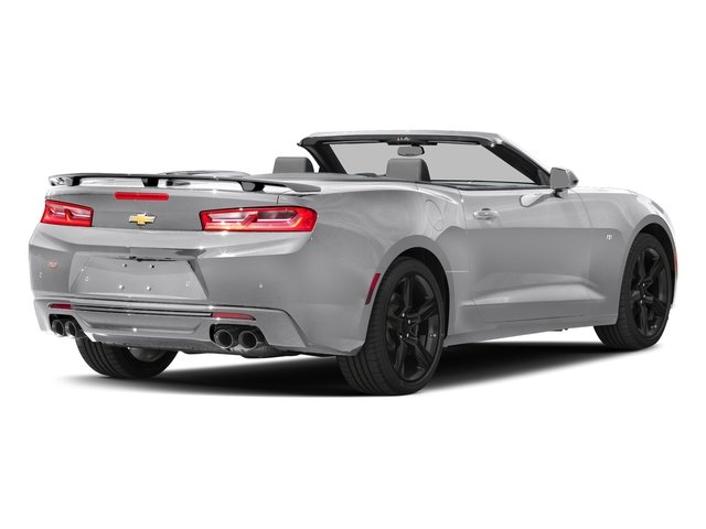 Silver Ice Metallic 2016 Chevrolet Camaro Pictures Camaro Convertible 2D SS V8 photos rear view