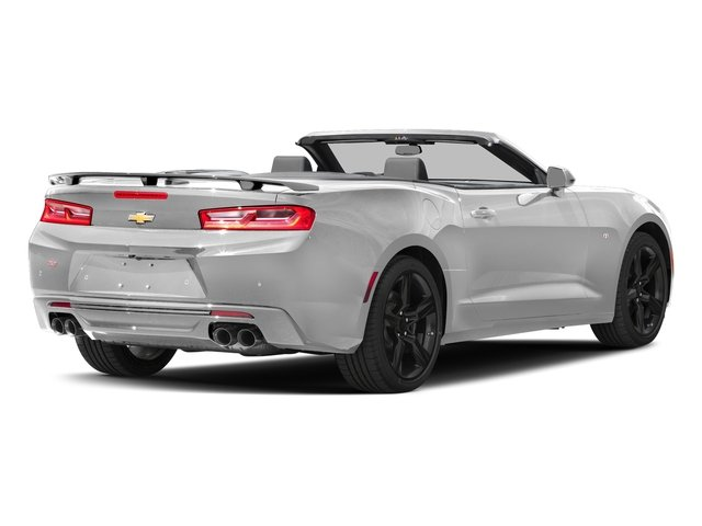 Summit White 2016 Chevrolet Camaro Pictures Camaro Convertible 2D SS V8 photos rear view