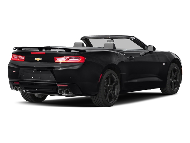 Mosaic Black Metallic 2016 Chevrolet Camaro Pictures Camaro Convertible 2D SS V8 photos rear view
