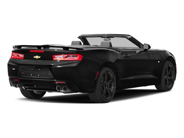 Black 2016 Chevrolet Camaro Pictures Camaro Convertible 2D SS V8 photos rear view