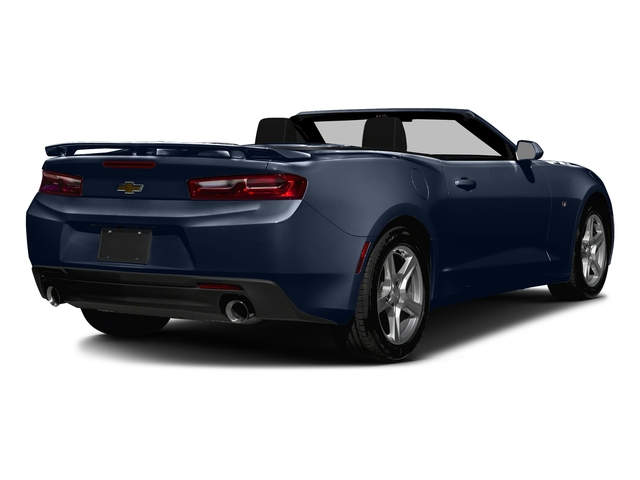 Blue Velvet Metallic 2016 Chevrolet Camaro Pictures Camaro Convertible 2D 2LT V6 photos rear view