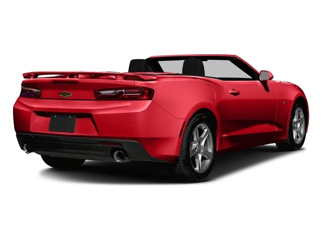 Red Hot 2016 Chevrolet Camaro Pictures Camaro Convertible 2D 2LT V6 photos rear view