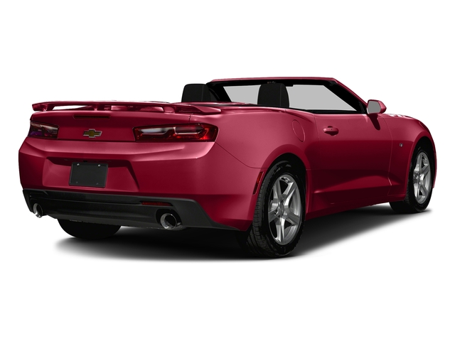 Garnet Red Tintcoat 2016 Chevrolet Camaro Pictures Camaro Convertible 2D 2LT V6 photos rear view