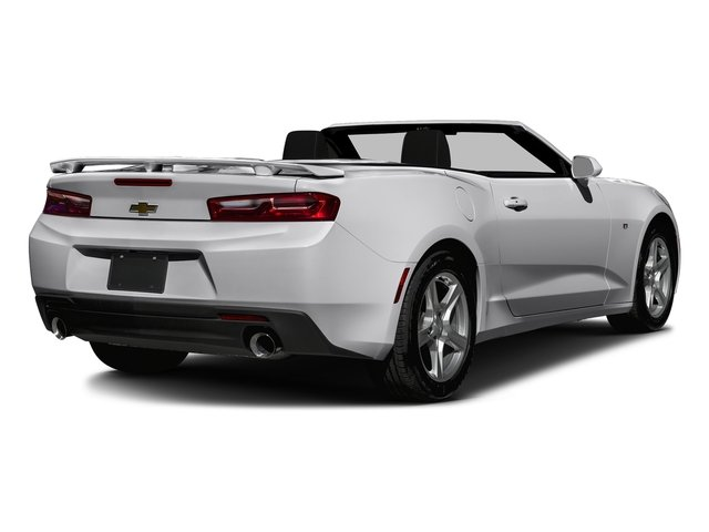 Silver Ice Metallic 2016 Chevrolet Camaro Pictures Camaro Convertible 2D 2LT V6 photos rear view