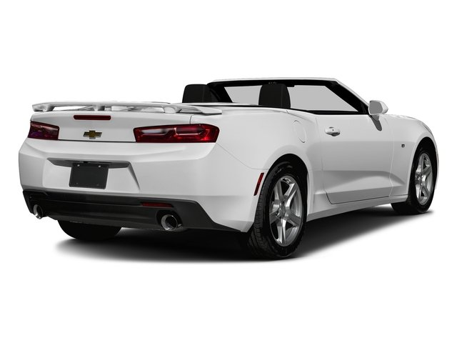 Summit White 2016 Chevrolet Camaro Pictures Camaro Convertible 2D 2LT V6 photos rear view
