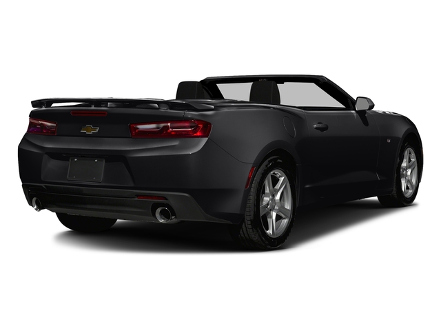 Mosaic Black Metallic 2016 Chevrolet Camaro Pictures Camaro Convertible 2D 2LT V6 photos rear view