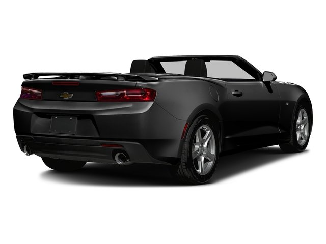 Black 2016 Chevrolet Camaro Pictures Camaro Convertible 2D 2LT V6 photos rear view
